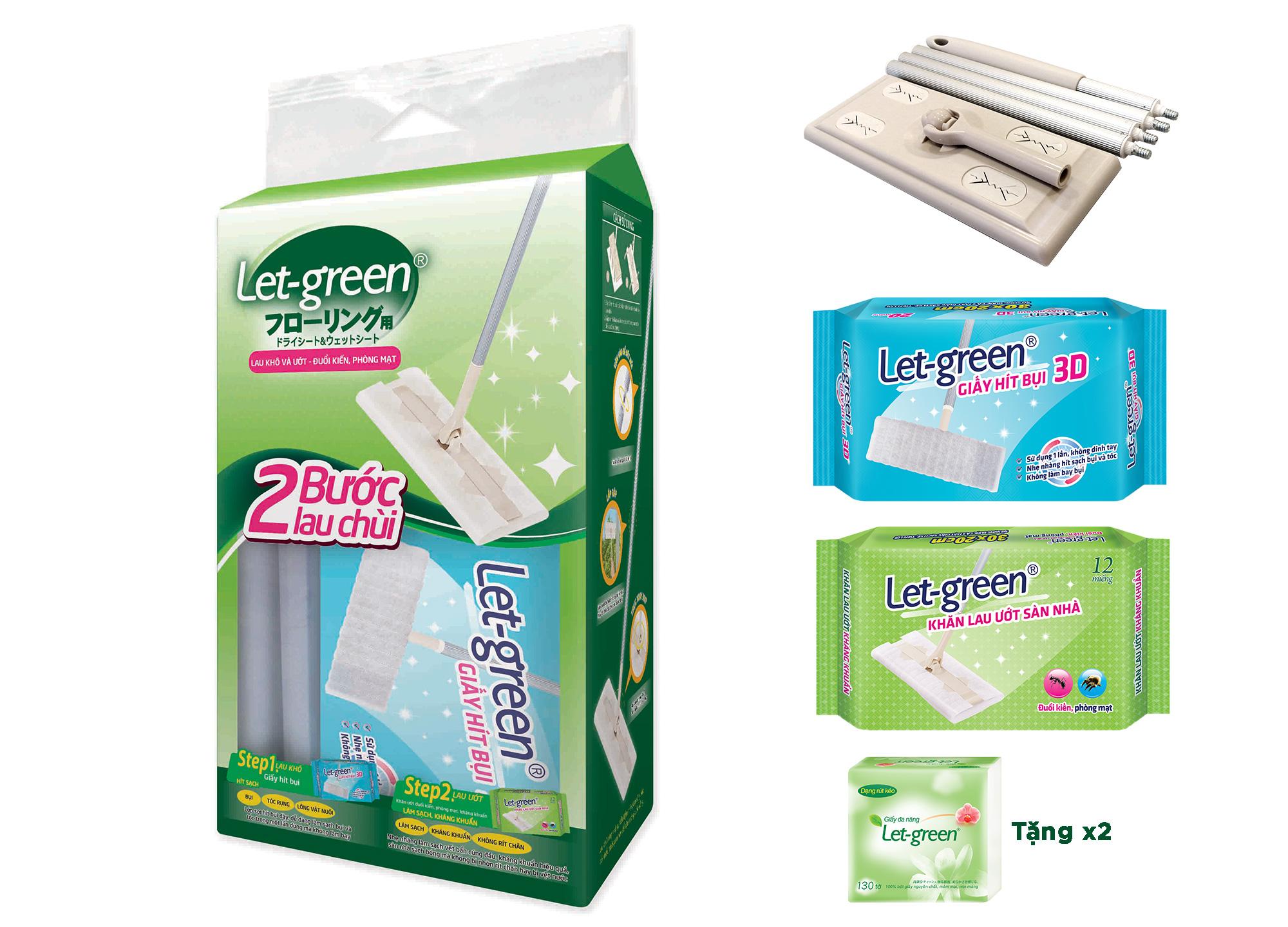 Let-Green mop set