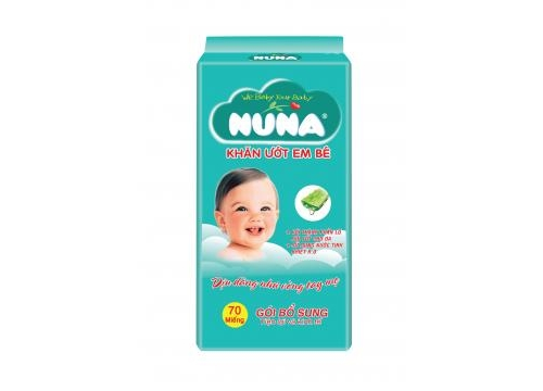 NUNA Baby Wet Wipes Refill 70pcs