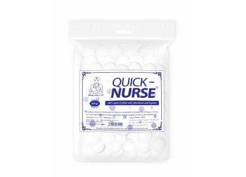 Bông viên y tế Quick-nurse Ø2cm - 300gr