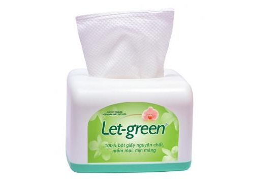 Let-Green Multi-Function – Table Tissue Box