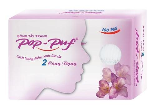 Pop-Puf Dual Function Cotton Pads
