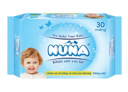 NUNA Baby Wet Wipes 30pcs - Unscented