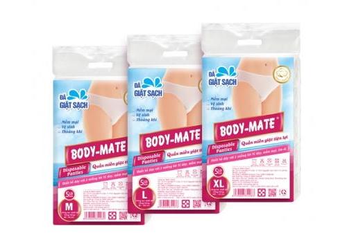 BODY-MATE Women's Disposable Panties