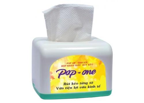 Hộp để bàn giấy vệ sinh đa năng Pop-one