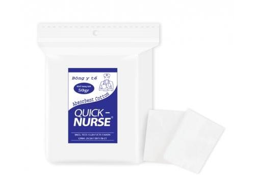 Bông cắt Quick-nurse 4cm*4cm - 50gr