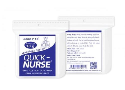 QUICK-NURSE Absorbent Cotton 10g