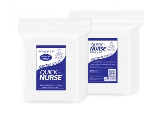 QUICK-NURSE Absorbent Cotton 50g