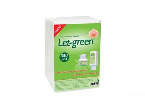 Bao Bổ Sung Let-green 350 tờ