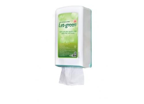 Hộp treo tường giấy vệ sinh đa năng Let-green